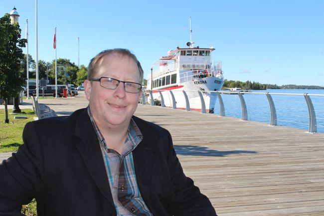Northern Ontario Party leader Trevor Holliday.