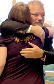 Airdrie Mayor Peter Browb, Sarah Hofmann