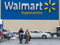 A Walmart store in Ottawa is pictured in this Feb. 11, 2015 file photo. (Errol McGihon/Ottawa Sun/Postmedia Network)