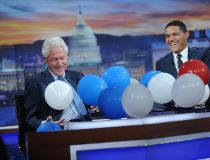 Trevor Noah Daily Show Bill Clinton