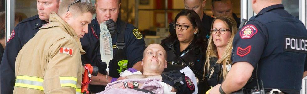Police officer injured at Marlborough Mall shooting