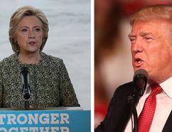 Hillary Clinton and Donald Trump. (Matt Rourke/AP and Joe Raedle/Getty Images)