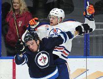 Oilers Jets rookies