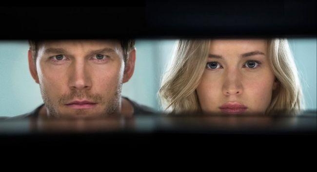 Jennifer Lawrence and Chris Pratt star in 'Passengers.' (Handout)