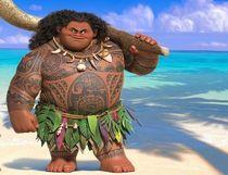 "Maui from the Disney film ""Moana."" (Supplied)"
