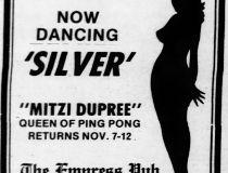 Mitzi Dupree ad