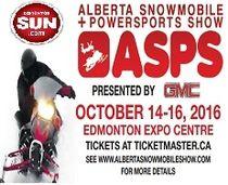 2016 Edmonton Snowmobile Show