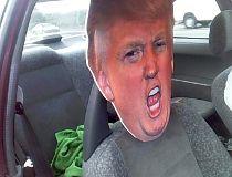 Trump in carpool lane