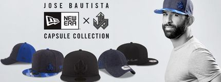 Jose Bautista's New Era collection