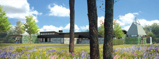 Nipissing Serenity Hospice artist's rendering courtesy of Larocque Elder Architects Architectes Inc.