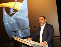 Ontario Minister of Energy and Sudbury MPP Glenn Thibeault announced funding for Science North's IMAX Theatre in Sudbury on Tuesday. John Lappa/Sudbury Star