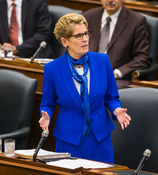 Ontario Premier Kathleen Wynne at Queen's Park in Toronto Tuesday October 4, 2016. (Ernest Doroszuk/Toronto Sun)