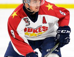 Wellington Dukes forward Nic Mucci. (OJHL Images)