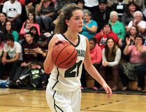 Emma Weltz, O'Gorman High School Sr. Knights girls basketball team