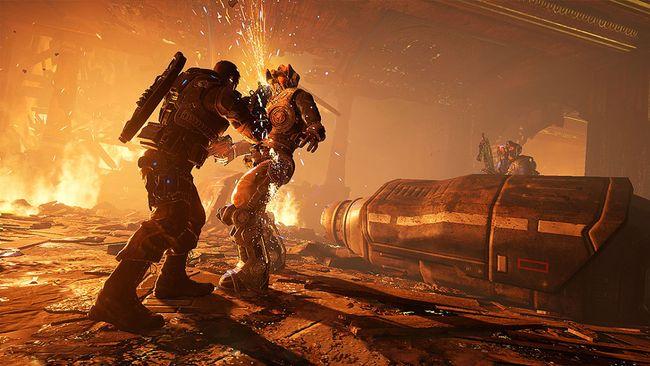 """""""Gears of War 4."""" (Supplied)"""