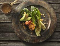 Grilled romaine salad. (Handout photo)