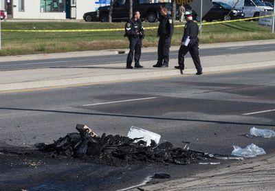 Scene of fatal crash killing four people in Brampton on Bovaird near Main  on Tuesday October 11, 2016. Craig Robertson/Toronto Sun/Postmedia Network