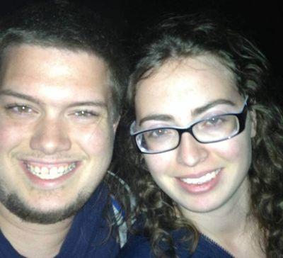 Brian McGinnis, 24, and girlfriend Lauren Bouchard, 22. (FACEBOOK)