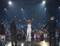 Celine Dion celebrates 1,000th show at The Colosseum at Caesars Palace. Photo by Denise Truscello (PRNewsFoto/Caesars Entertainment & AEG Live)