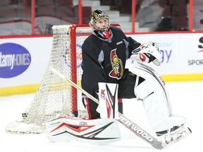 Senators goalie Craig Anderson. (Jean Levac, Postmedia Network)