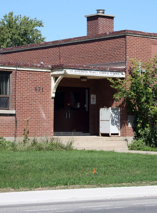 St. Joseph/St. Mary Catholic School at 671 Brock St. in Kingston, Ont. on Saturday September 3, 2016. Steph Crosier/Kingston Whig-Standard/Postmedia Network