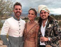 Former 'Glee' star Dianna Agron wed Mumford & Sons star Winston Marshall in a lavish Morocco destination wedding. (gleecastnew/Instagram)