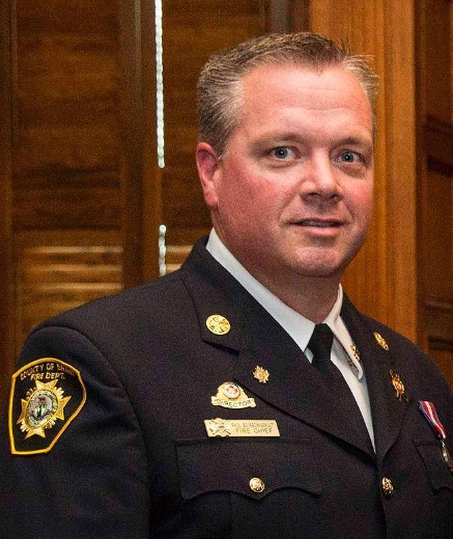 Brant Fire Chief Paul Boissonneault