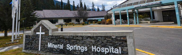 Banff Mineral Springs Hospital in Banff, Alta. (Daniel Katz/ Crag & Canyon/ Postmedia)