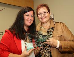 Award winners of the SDHU's Public Health Champion Award.