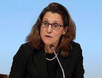 Minister of International Trade Chrystia Freeland. THE CANADIAN PRESS/AP, David Rowland/SNPA via AP