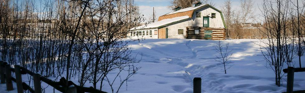 Fish Creek barn