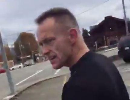 Racist Man
