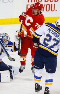 Flames vs. Blues