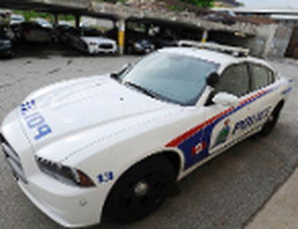 Peterborough police cruiser