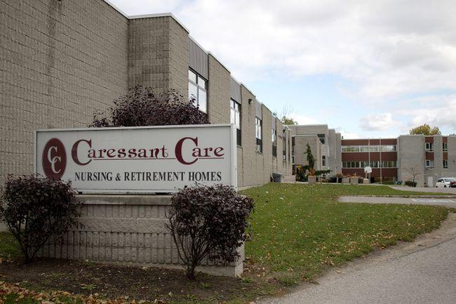 Caressant Care nursing home. (File photo)