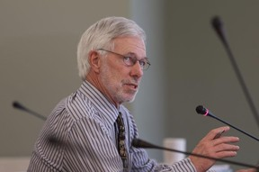 North Frontenac Township Mayor Ron Higgins. (Elliot Ferguson/The Whig-Standard)