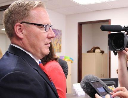 Families Minister Scott Fielding filer