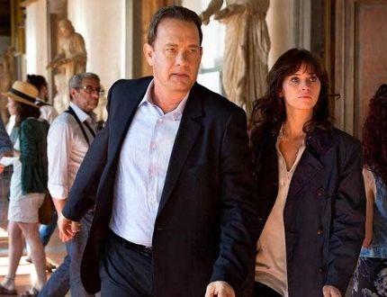 """Tom Hanks and Felicity Jones in """"Inferno."""""""