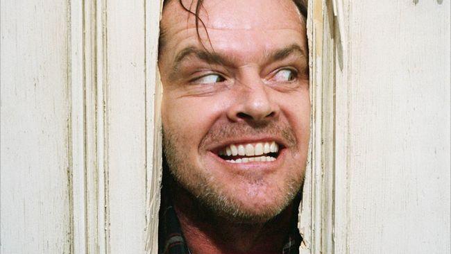 "Jack Nicholson in ""The Shining."""