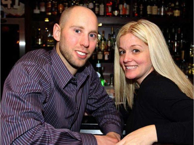 Ottawa Senators goalie Craig Anderson with his wife, Nicholle. (CAROLINE PHILLIPS/ Postmedia)