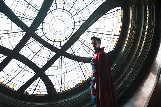 "Benedict Cumberbatch plays Doctor Stephen Strange in Marvel's ""Doctor Strange."" (Jay Maidment/Marvel)"