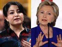 Maryam Monsef Hillary Clinton