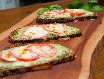 Tomato/Pesto Tartines (Photo by CRAIG GLOVER, The London Free Press, Food styling by Josie Pontarelli)