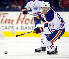 Edmonton Oilers centre Connor McDavid.