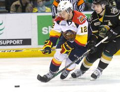 Erie Otter Alex DeBrincat (Free Press file photo)