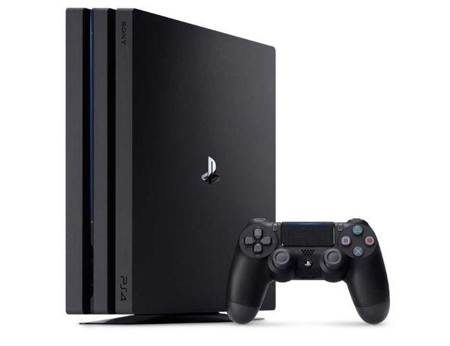 Sony's new PlayStation 4 Pro.