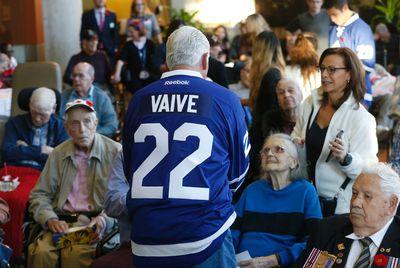 Former Toronto Maple Leafs player Rick Vaive at Sunnybrook Hospital's Veterans Centre in Toronto on Wednesday November 9, 2016. Michael Peake/Toronto Sun/Postmedia Network