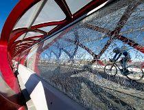 Peace Bridge vandalized