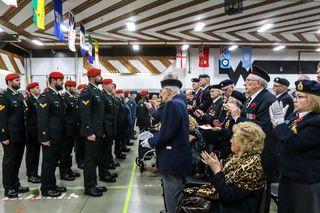 Huge crowd for Nov. 11 service | Wetaskiwin Times