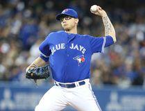 Toronto Blue Jays pitcher Brett Cecil. (Veronica Henri/Toronto Sun)